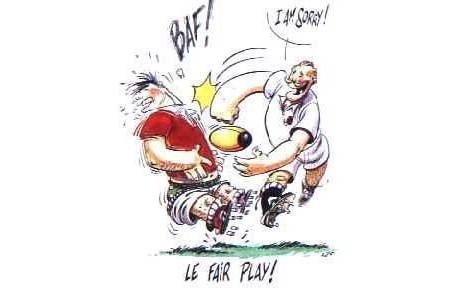 Racing metro 92 rugby humour for Humour anglais